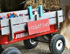 RAD! Retro Rocket Party {Space Theme}