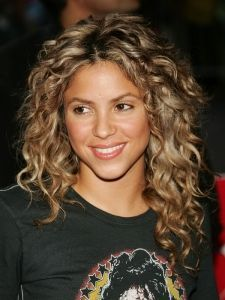 Shakira Tight Spiral Curly Hairstyle