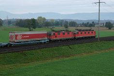 Swiss Railways, Electric Locomotive, Rarity, Early Morning, Trains, The Past, October, Photos, Photo Illustration