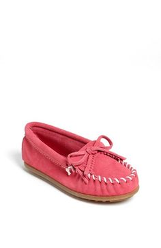 Minnetonka Kiltie Moccasin (Walker, Toddler, Little Kid & Big Kid) | Nordstrom