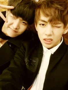 Taehyung and j-hope's twitter update