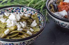 Mezze: Grüne Bohnen aus dem Ofen |www.reisehappen.de