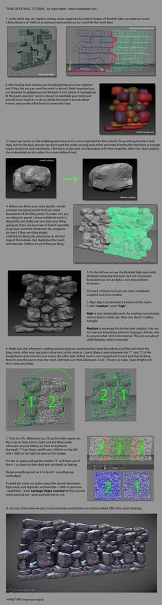 Tutorial Hoarder's Dump / Collage of tutorials hoarded over time - Polycount Forum