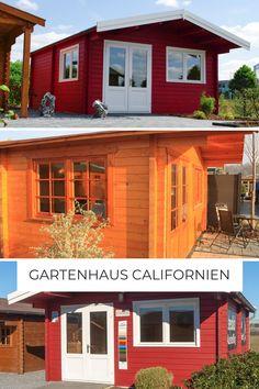 Gönn dir was... mit dem Gartenhaus Californien erfüllst du dir sicher den heiß ersehnten Traum eines Gartenhauses.   Ein Gartenhaus, wie es im Bilderbuch steht. Egal in welcher Farbe, es sticht immer im Hochglanz hervor. ☀️