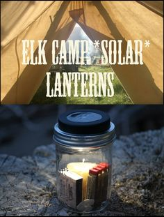Mason Jar Solar Lanterns for a Soft Glow in Camp (No Fire Hazard)