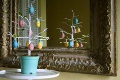 Adorable Edible Easter Egg Tree.