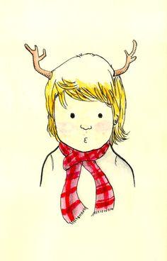 Deer Girl  by Calvin Wu