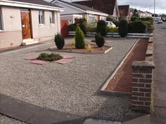 no grass yards design | Dastardly Dandelions and Gravel Yards | A Wee Blether