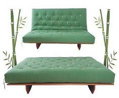 """Quero uma assim só q roxo! Sofá-cama Futon casal modelo """"L"""" :: Sofá-Cama Futon"""