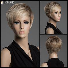 Short Pixie Cut Human Hair Wig
