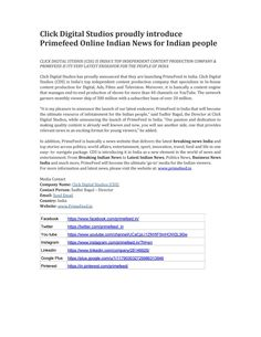 Prime Feed - Latest News India, Breaking News India, India News