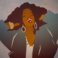 fyblackwomenart:  Donna Summer by Jacopo Severitano