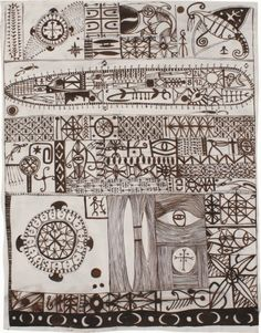 John Pule New Zealand Art, Nz Art, Maori Art, Kiwiana, Mark Making, Printmaking, Cool Art, Vintage World Maps, Doodles
