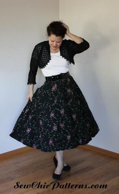Sew Chic Pattern Starter Skirt LN1000 and Victory Jacket LN1414