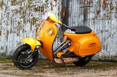 maybe, but in this case 'lower' as in more slammed than a … Vespa Motor Scooters, Vespa Bike, Lambretta Scooter, Motor Vehicle, Vintage Vespa, Vespa Tuning, Vespa Px 150, Classic Vespa, Wood Bike