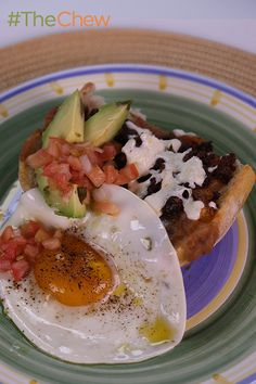 Delicioso! Don't miss out on Mario Batali's take on this traditional Spanish breakfast of Chorizo Molletes! #TheChew