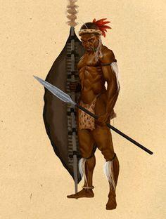 Zulu Warrior Spear | www.pixshark.com - Images Galleries ...