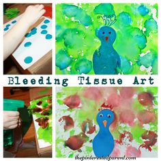 If your kids are peacock lovers like we are, you will love this pretty and fun painting project. Blow painting is wonderful for preschoolers.