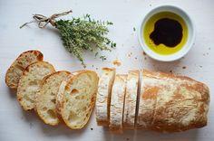 Kublanka vaří doma - Ciabatta Ciabatta, Pizza Dough, Scones, Bread Recipes, Camembert Cheese, French Toast, Muffins, Food And Drink, Fresh