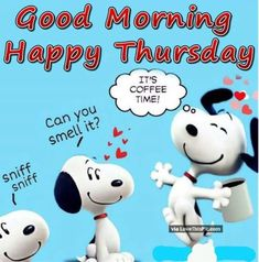 Snoopy • Thursday Coffee