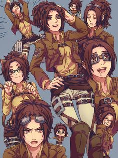 Hanji!!!!! I freaking love her.