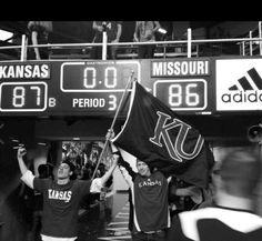 This. Is. Kansas. Basketball. <3