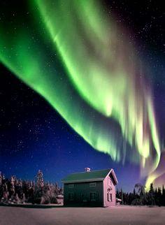 Northern Lights ~ Alaska. AMAZING