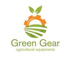 Logo Design - Green Gear for Agricultural Equipment