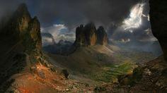 Three Peaks, Tre Cime, Drei Zinnen - Dolomites Italy (By Moro)