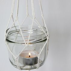 Love To-Go - happy little things: DIY: Hanging candles