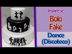 Bolo Fake Dance (Discoteca) - Inspire-se   Criatividades da Dê - YouTube