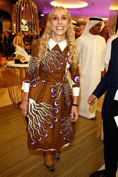 Franca Sozzani - Vogue Fashion Dubai Experience