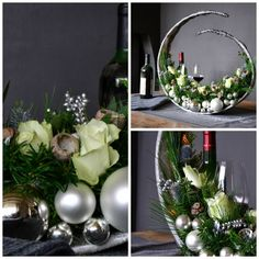 1 million+ Stunning Free Images to Use Anywhere Christmas Planters, Christmas Greenery, Woodland Christmas, Christmas Wreaths, Christmas Crafts, Christmas Ornaments, New Years Decorations, Christmas Table Decorations, Topiary Centerpieces