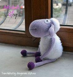 Amigurumi Sheep - Free Pattern here: tinyminidesign. Amigurumi Sheep - Free Pattern here: tinym Crochet Sheep, Crochet Amigurumi Free Patterns, Crochet Animals, Crochet Dolls, Knitting Projects, Crochet Projects, Crochet Ideas, Crochet Motifs, Amigurumi Doll