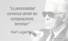 Frase de moda del diseñador Karl Lagerfeld