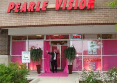Pearle Vision's Pink Carpet Runway
