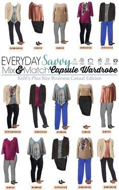 b046729ef7e Fall Plus Size Business Casual Capsule From Kohls