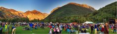 Summer iResort's Definitive Guide to Colorado's Mountain Music Festival Vacation Places, Vacation Trips, Vacation Ideas, Places To Travel, Places To See, Road Trip To Colorado, Mountain Music, Gypsy Life, Colorado Mountains