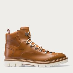 CHARLS. Shop the Charls bootie from Bally. A continuation of our popular urban hiking boots, this tan leather version is styled with a contrast rubber lug sole .