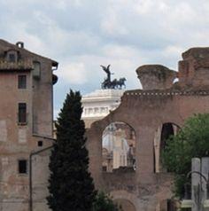 Altare della Patria from Fori Imperiali, Rome