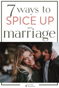 Ways To Spice Up Your Marriage Time to turn up the heat in your marriage. Even if you've got kids and a crazy schedule, you can spice up your marriage with these 7 tips. Marriage Is Hard, Marriage Help, Marriage Prayer, Biblical Marriage, Strong Marriage, Happy Marriage, Marriage Advice, Biblical Womanhood, Christian Wife