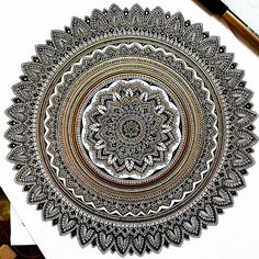 murderandrose: As a THANK YOU to you all I have a HALF PRICE offer on the first 5 mandala orders as of today... until the 5th order is placed. If you are interested in a piece DM me or email me at murderandrose@gmail.com.  #Mandala #murderandrose
