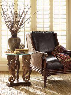 Landara Sea Horse Lamp Table | Lexington Home Brandsaccent table