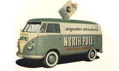 Volkswagen Logo Bus, North Pole. www.facebook.com/...