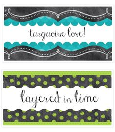 Luckeyfrog's Lilypad came up with a couple of great combos for Painted Palette and Chalk It Up!  new