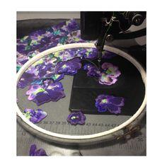 Ellie macdonald embroidery collaboration with Amelia graham textiles #ameliagrahamprint #elliemacs