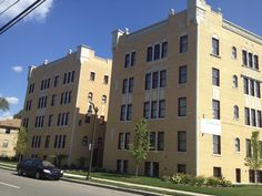 Palmer Park Square Apartments in Highland Park, MI - Quaker Historical Series Single Hung and Casement windows.