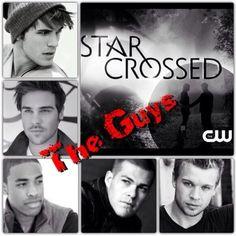 The guys of Starcrossed. LOVE