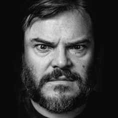 Jack Black: When I was a kid I thought I was the strongest man in the world. Then the fastest runner and then the smartest person in the world. One by one my delusions got shut down. Now I just see myself as the lamest guy in the world. Black Actors, Black Celebrities, Celebs, Black And White Portraits, Black And White Photography, Jack Black Lip Balm, Black And White People, Cinema, Creative Portraits