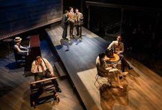 Chicago Shakespeare Theater. Road Show. Set Design by Scott Davis. Photo by Liz Lauren.